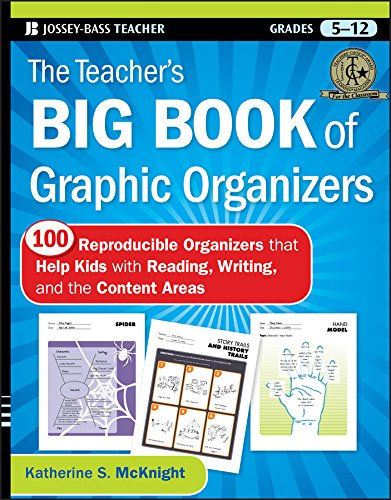 The Teacher's Big Book of Graphic Organizers: 100 Reproducible Organizers that Help Kids with Reading, Writing, and the Content - Comprehension Strategy Instruction