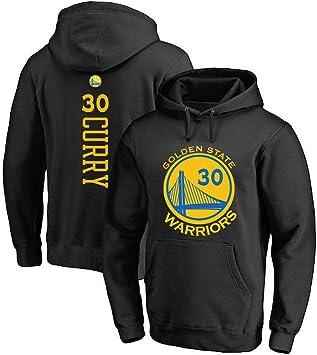 Hombre Mujer Sudadera con Capucha De Baloncesto NBA Warriors 30 ...