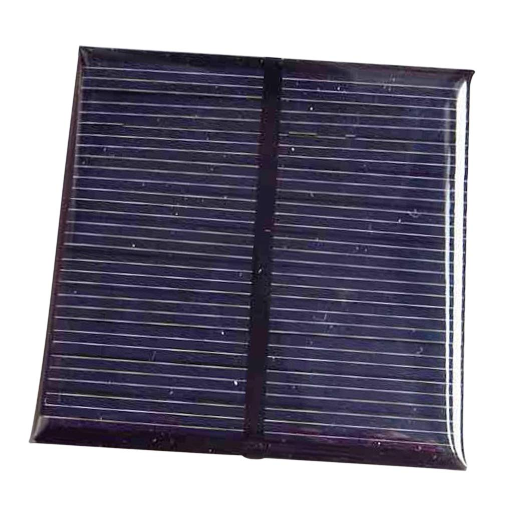 D DOLITY Mini Mono Solar Panel Solar Cell Module Solar Generator Charger 5.5V 0.6W, DIY Projects, Car Toys, New Tech Powered