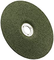 "3M(TM) Green Corps(TM) Cutting/Grinding Wheel, Ceramic Aluminum Oxide, 4-1/2"" Diameter x 1/8"" Thick, 7/8"" Center Hole Diameter, 36 Grit, 13300 rpm, Green (Pack of 20)"