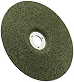 3M(TM) Green Corps(TM) Cutting/Grinding Wheel, Ceramic Aluminum Oxide, 4-1/2'' Diameter x 1/8'' Thick, 7/8'' Center Hole Diameter, 36 Grit, 13300 rpm, Green  (Pack of 20)