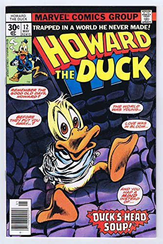 Howard the Duck #12 1st Appearance KISS Cameo 1977 Marvel Comics Vintage - Cameo Kiss