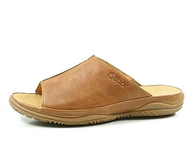 Gabor 62-090-54 Schuhe Damen Comfort Pantoletten Weite H, Schuhgröße:43