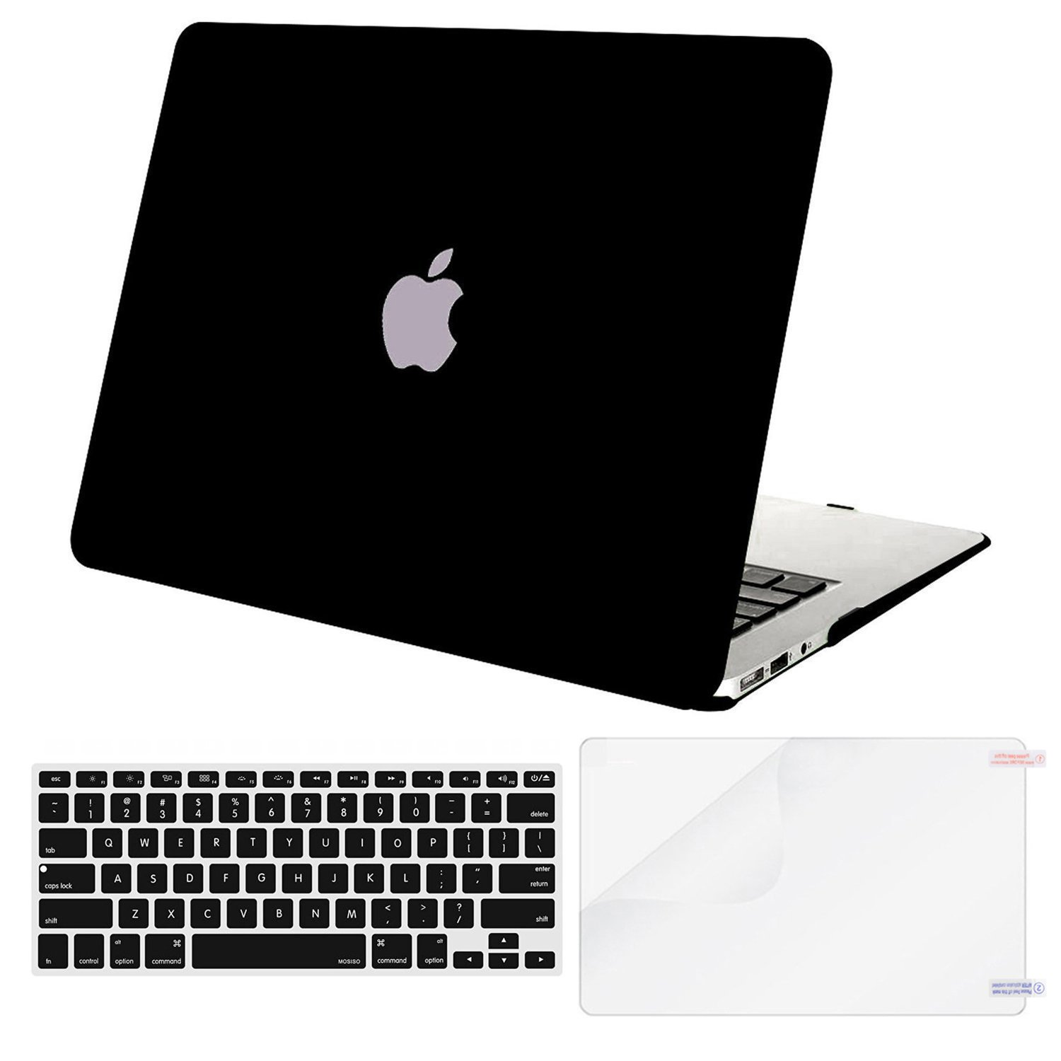 MOSISO Compatible with MacBook Air 13 inch Case (Models: A1369 & A1466, Older Version 2010-2017 Release), Protective…