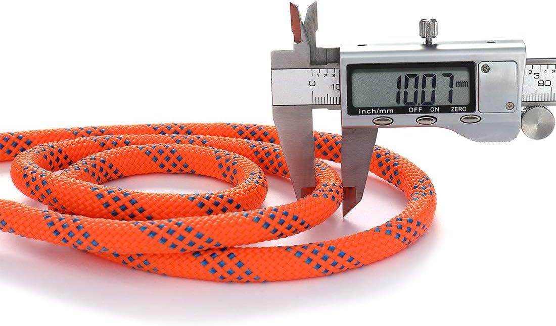 Diam 10mm,16mm GINEE Static Climbing Rope 35FT,50FT,100FT,150FT,200FT