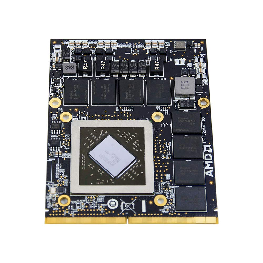 2GB Graphics Video Card Upgrade for Apple iMac Mid-2011 27 Inch Core i5 MAC814LL/A MC814 A1312 Desktop All-in-One PC, AMD Mobility Radeon HD 6970M Replacement Repair Parts
