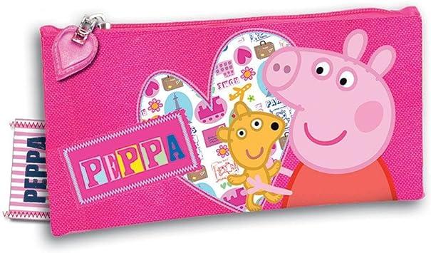 Estuche portatodo Peppa Pig Sweet: Amazon.es: Juguetes y juegos