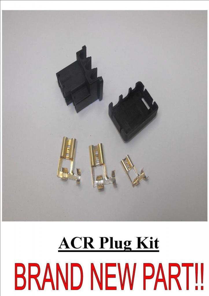 Nuevo Kit de 3/pines Tipo de enchufe Lucas acr Alternador