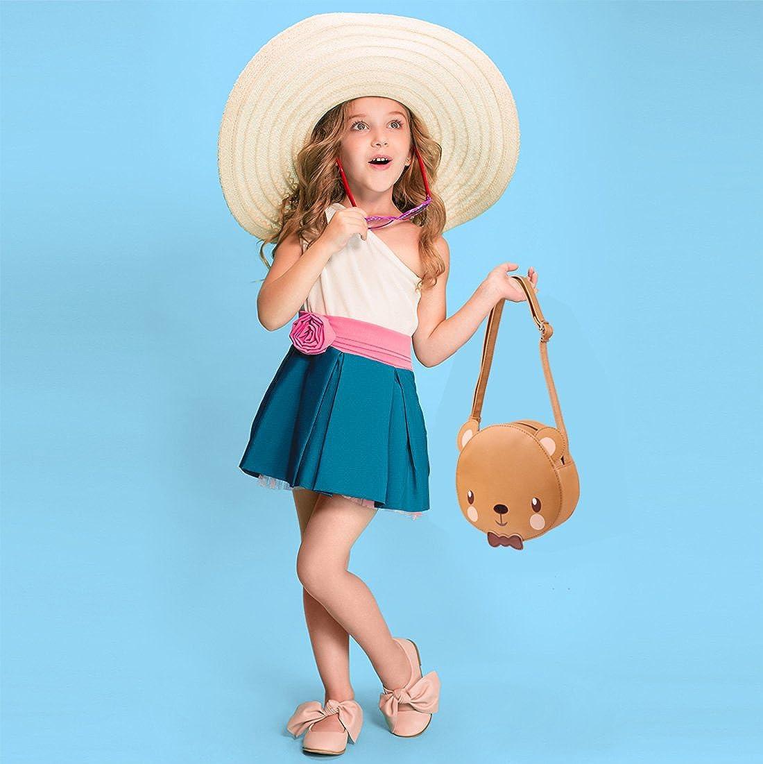 Amazon.com: Ava & Kings Little Girl bolso de mano de piel ...