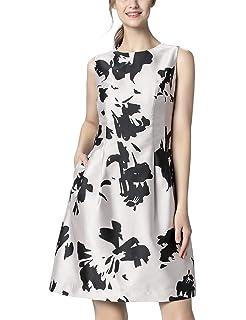 APART Fashion Damen Jacquard Dress Partykleid