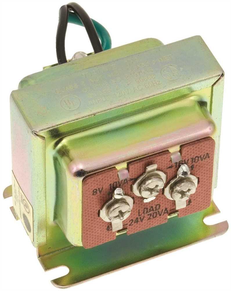 TRANSFORMER AC TRI-VOLT CALMP ON 8-16-24 VAC