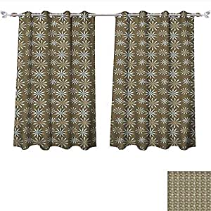 Amazon Com Thermal Insulating Blackout Curtain Damask
