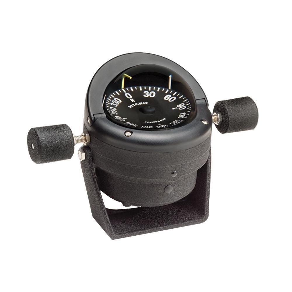 Ritchie Black HB-845 Helmsman Steel Boat Compass - Bracket Mount by Sirimaya