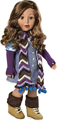 Adora Amazing Girls 18 Inch Doll, ''Ava'' (Amazon Exclusive) Compatible With Most 18 Inch Doll Accessories And Clothing