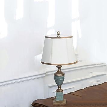 LEGELY Lámpara de Mesa Retro Pintado, lámpara de Escritorio ...