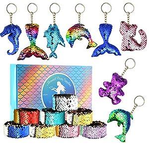 FEPITO 16 Pcs Mermaid Magic 2-...