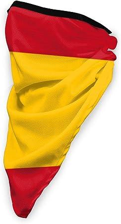 SSN1THDA Bandera Española Resistente al Viento al Aire Libre Deportes Face Mask Work As Sun Mask, Dust Mask, Neck Gaiter, Pasamontañas Transpirable Máscara, poliéster, Negro, Talla única: Amazon.es: Hogar