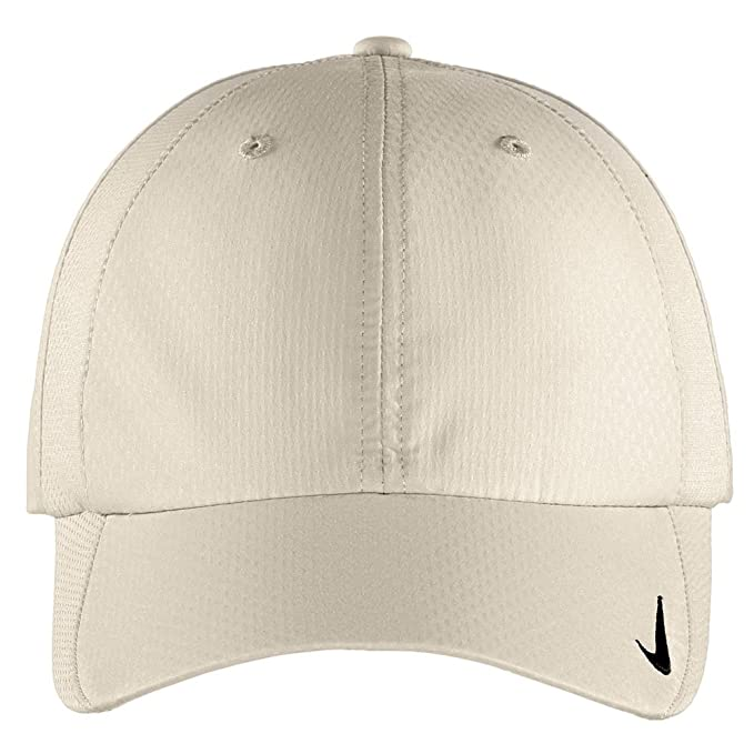 1eaade60507 Amazon.com  Nike Authentic Sphere Quick Dry Low Profile Swoosh Embroidered  Adjustable Cap - Birch  Sports   Outdoors