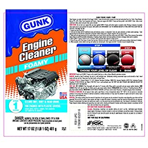 Gunk FEB1 Foamy Engine Brite Engine Cleaner - 17oz.