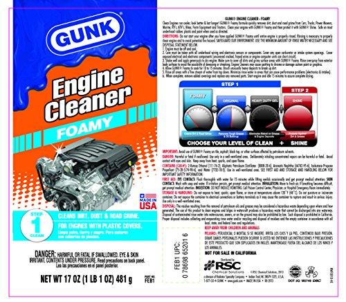 Gunk FEB1 Foamy Engine Brite Engine Cleaner - 17oz. - Buy Online in UAE. | Automotive Products ...