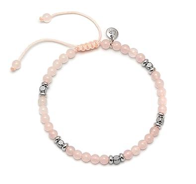 Lola Rose Women Pink Coral Strand Bracelet of Length 15cm 703451 rHAVCR4
