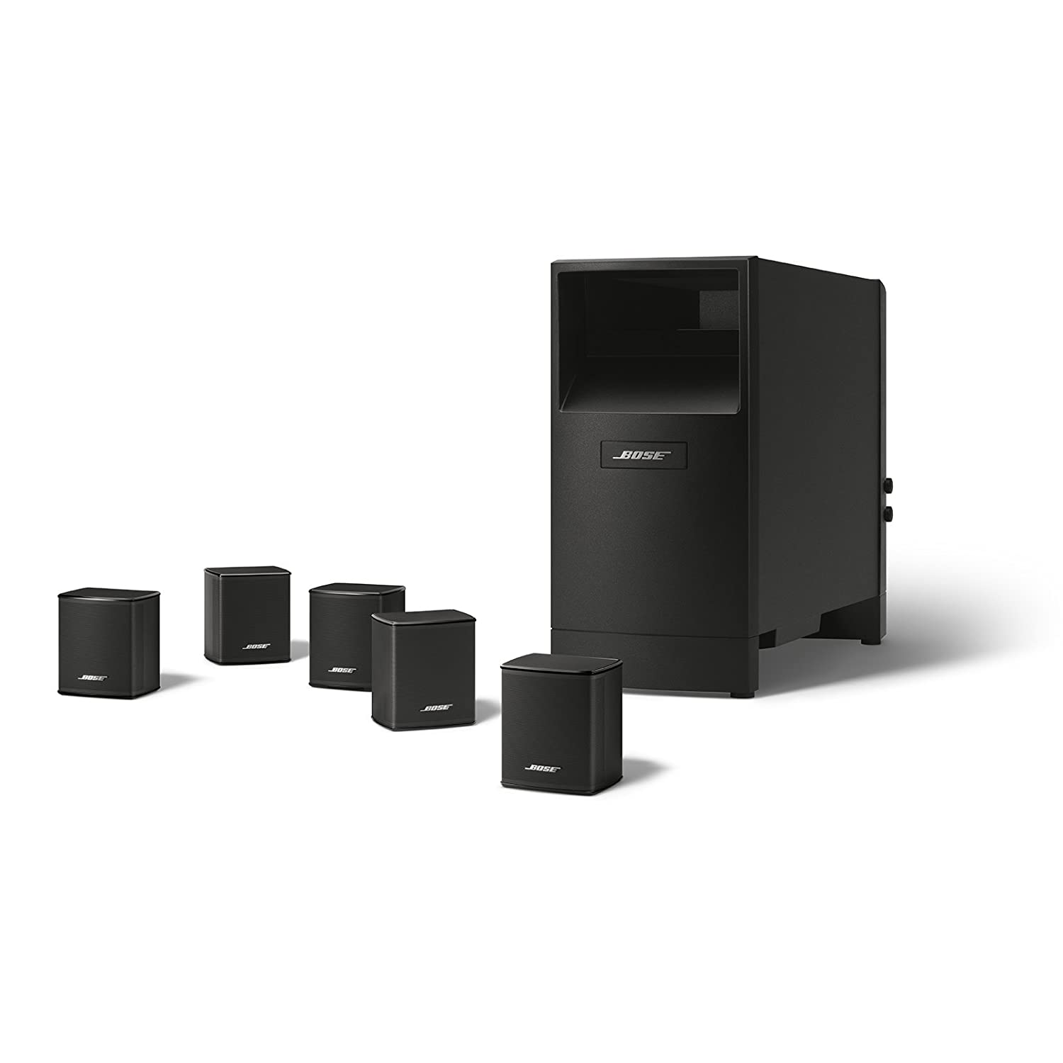 Amazon bose acoustimass 6 series v home theater speaker amazon bose acoustimass 6 series v home theater speaker system black home audio theater sciox Choice Image