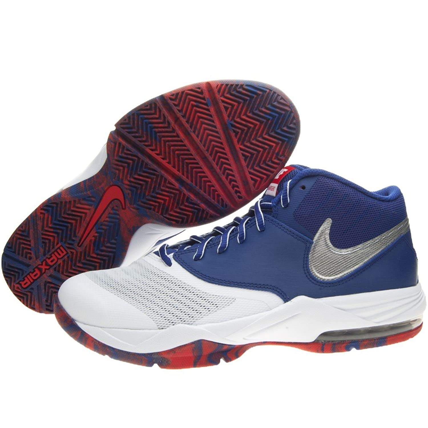 Nike Men White & Blue Air Max Emergent Basketball Shoes (7 UK/India): Buy  Online at Low Prices in India - Amazon.in