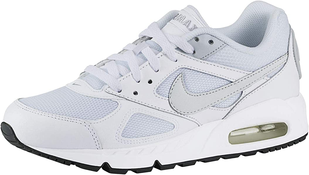 best sneakers 19196 4a080 Nike WMNS AIR Max IVO Baskets Femme, (BlancGris FroidPlatine Pur