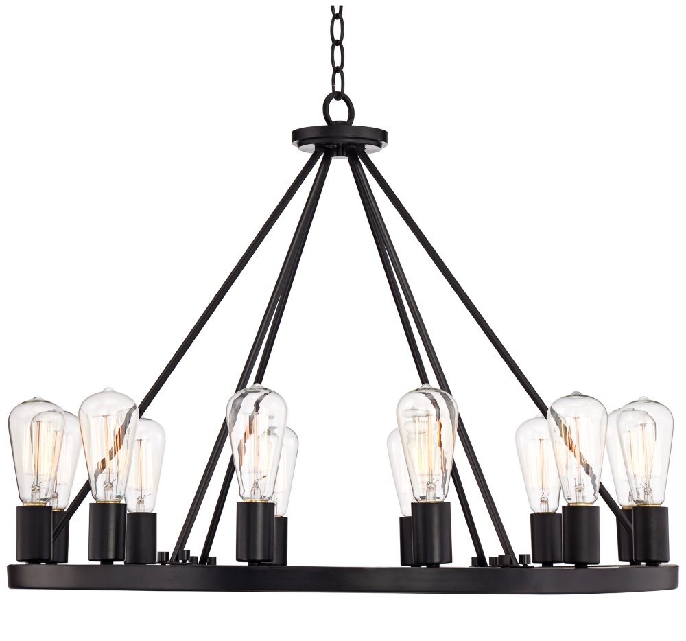 Lacey 28 wide round black chandelier amazon arubaitofo Choice Image