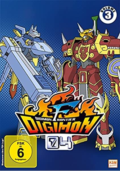 Digimon Frontier, Vol. 3 [Alemania] [DVD]: Amazon.es: Yukio Kaizawa: Cine y Series TV