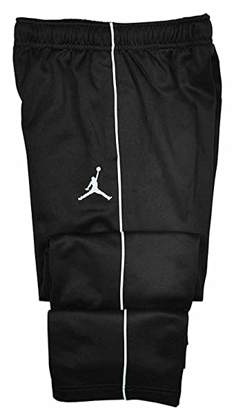 c9ab70cb1ac Image Unavailable. Image not available for. Color: Nike Jordan Boys' Therma- fit Jumpman Athletic Track Pants Size 2T Black/White