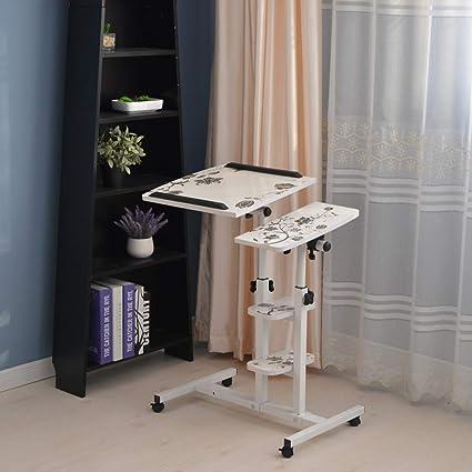Mesa de escritorio para ordenador portátil de altura ajustable ...