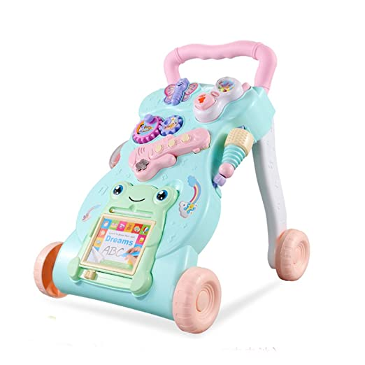 DULPLAY andador de bebé, sentado a pie, para aprender a ...