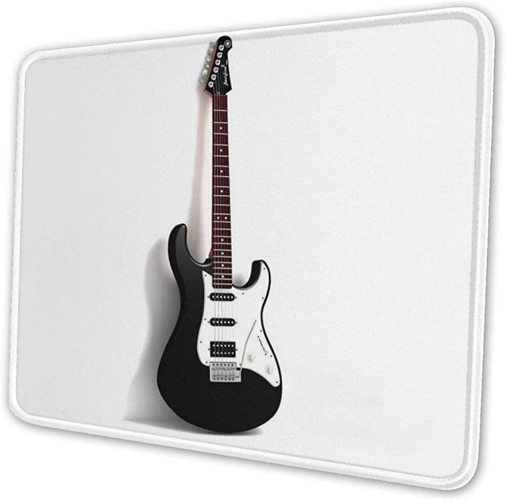 Guitarra eléctrica Música Alfombrilla de ratón Alfombrilla de ratón única Personalizada Teclado de computadora: Amazon.es: Electrónica