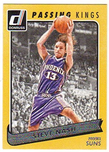 (Basketball NBA 2015-16 Donruss Passing Kings #23 Steve Nash Suns)