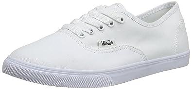 vans women's lo pro white