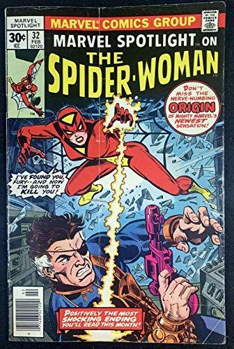 Marvel Spotlight (1972) #32 VG+ (4.5) 1st app Spider-Woman