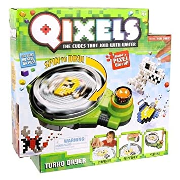 Qixels Turbo Dryer Toy Cubes That Join With Water Kids Game Fun & Creative New ,