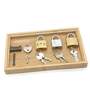 Amazon.com: Meroco Montessori - Juego de candado y llave ...