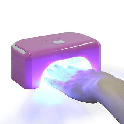 Elite 99 - Secador de uñas, lámpara UV 12 W, 4 modos de tiempo