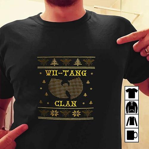 Amazoncom Wu Tang Ugly Christmas Sweater Unisex Crewneck Hip Hop