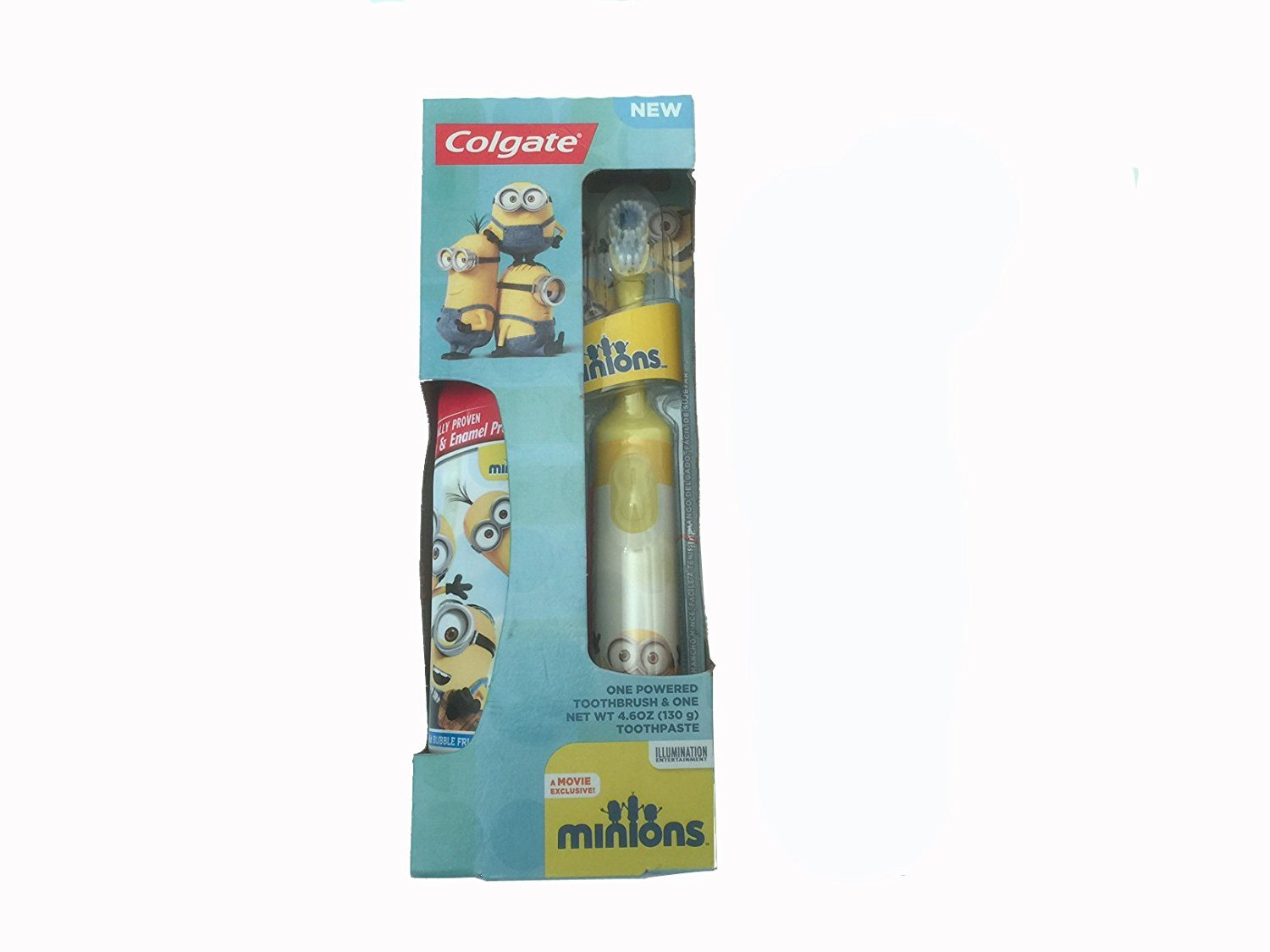 Colgate Minions Power Toothbrush + Toothpaste