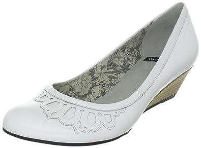 Womens white Vagabond Weiss 38 Eu Poppy Size Pumps White 5 nffEXB