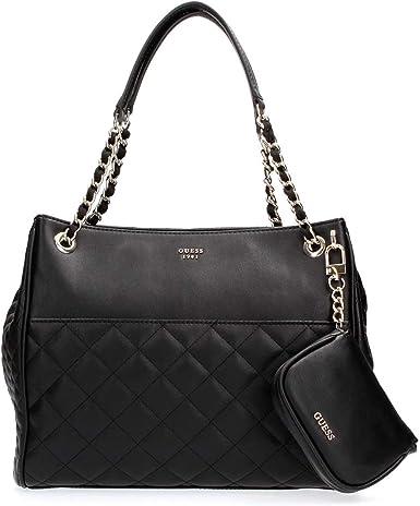 Guess Sac Epaule Shopper Wilson HWVG5070090 Noir: