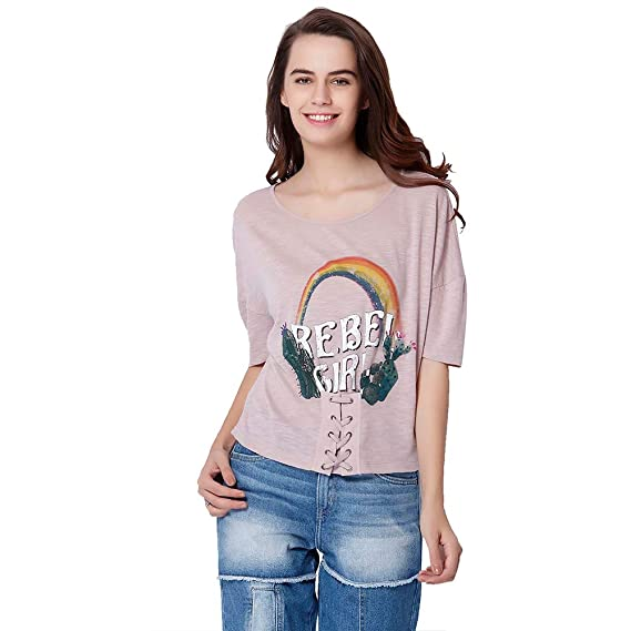Buy Only Women S Loose Fit T Shirt At Amazon In Unicorn t shirt fitted loose woman's novelty glitter vinyl print top birthday. only women s loose fit t shirt