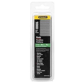 STANLEY 1-SWKBN1187T - Clavo/brad 8/300 / e/tipo j - 30mm - 1000 u.: Amazon.es: Bricolaje y herramientas
