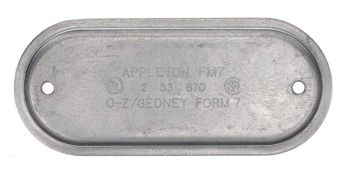 Appleton APP370IG Cover with Gasket Steel 1 FM7