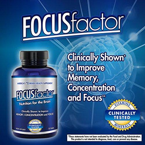 Focusfactor® Dietary Supplement 150 Tablets