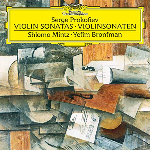 Prokofiev: Sonata for Violin and Piano No. 1 in F Minor - Sonata for Violin and Piano No. 2 in D ()