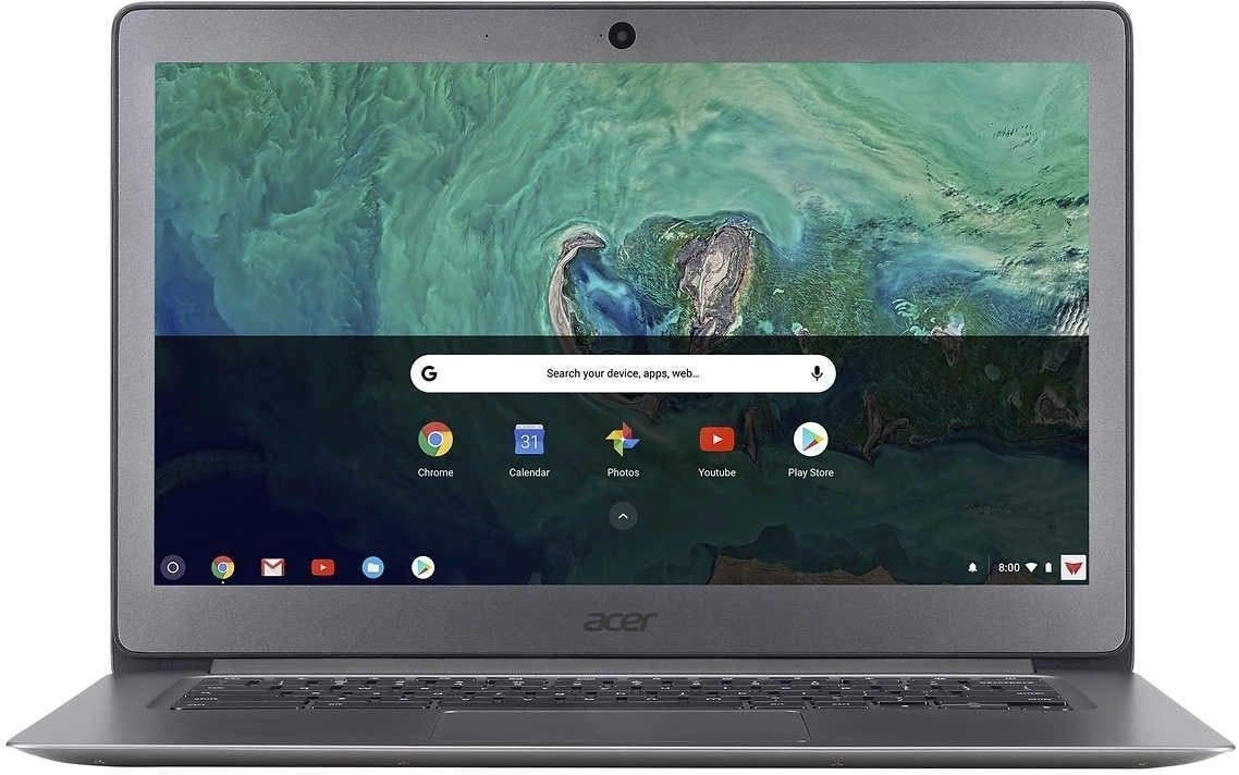 """Acer 14"""" FHD LED Backlight Widescreen Chromebook w/ 128G SD Card 